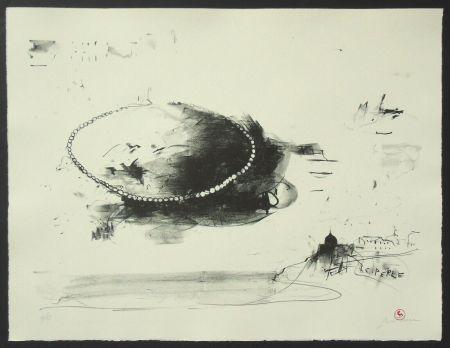 Lithographie Pizzi Cannella - Le perle