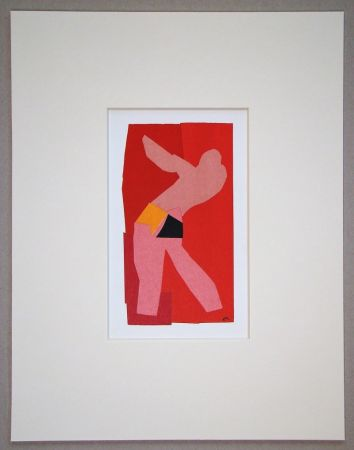 Lithographie Matisse (After) - Le petit danseur - 1947