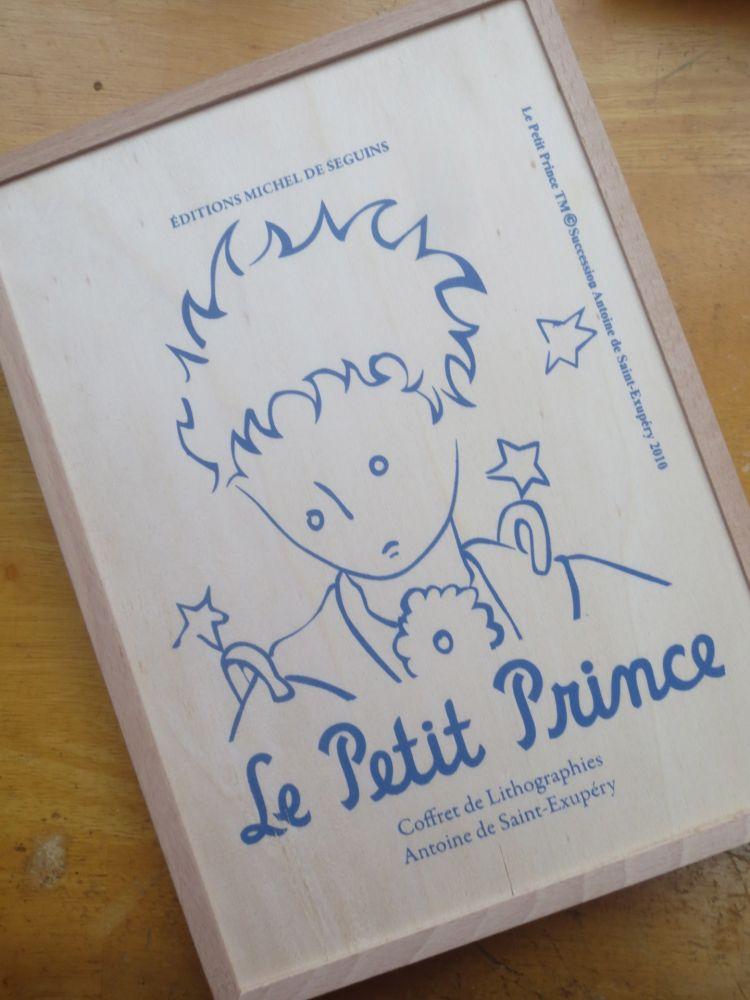 Lithographie Saint-Exupéry - Le petit prince