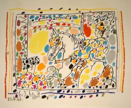 Lithographie Picasso - Le picador II