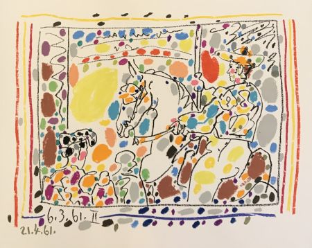 Lithographie Picasso - Le Picador II (B.1017)
