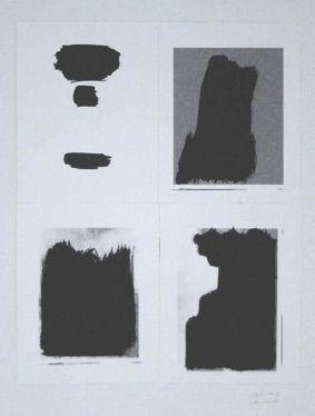 Sérigraphie Buraglio - Le Plaisir de peindre
