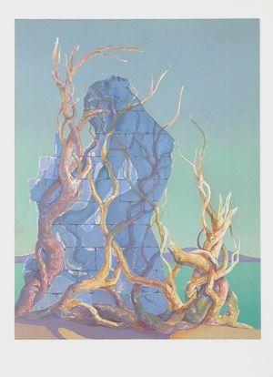 Lithographie Cleren - Le plaisir des pierres