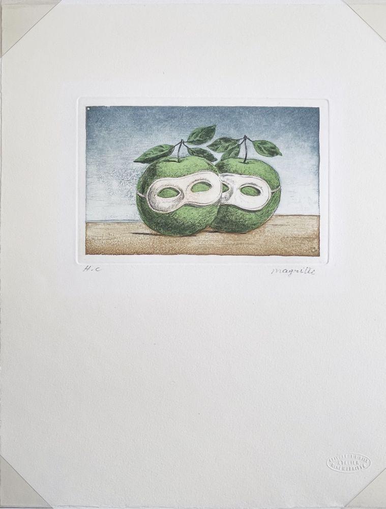 Aucune Technique Magritte -  Le Pretre Marie (