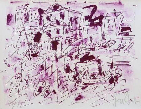 Lithographie Paul  - Le quatuor