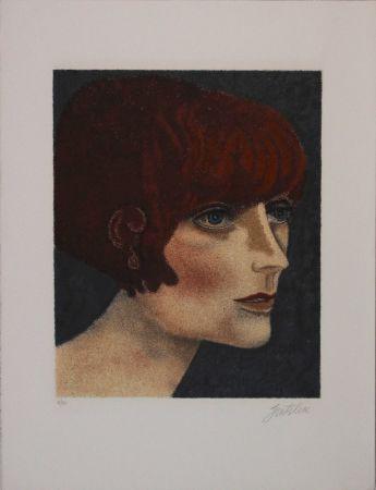 Lithographie Gentilini - Le ragazze di Roma V
