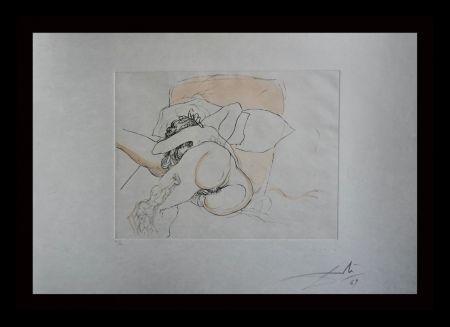 Gravure Dali - Le Repos du Guerrier
