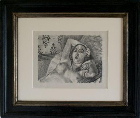 Lithographie Matisse - Le Repos du Model