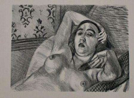 Lithographie Matisse - LE REPOS DU MODELE