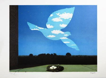 Lithographie Magritte - Le Retour (The Return)