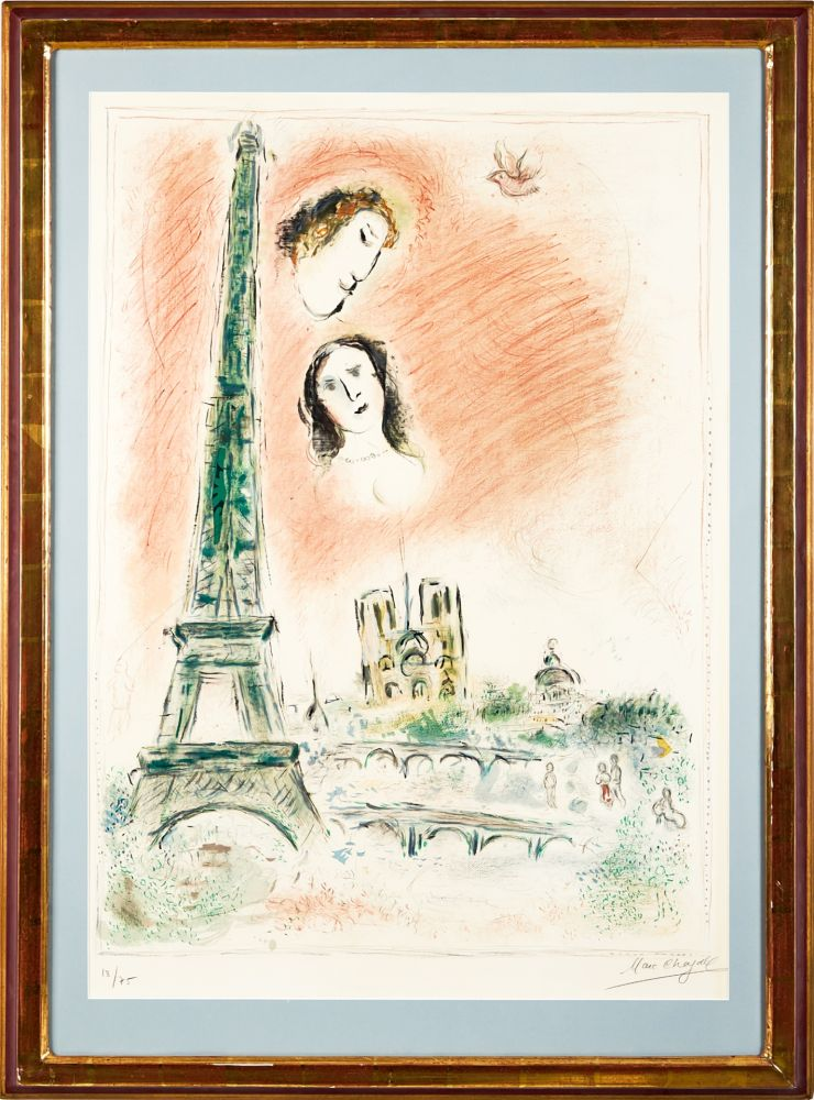 Aucune Technique Chagall -  Le Reve de Paris