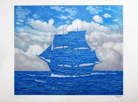 Lithographie Magritte - Le Séducteur (The Tempter)