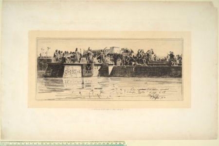 Pointe-Sèche Faruffini - LE SACRIFICE EGYPTIEN D'UNE VIERGE AU NIL