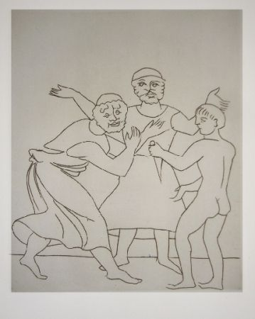 Livre Illustré Derain - Le satyricon