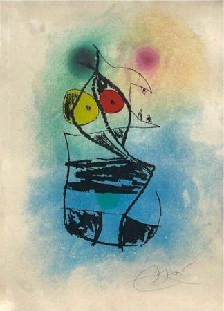 Eau-Forte Et Aquatinte Miró - Le scorpion joufflu