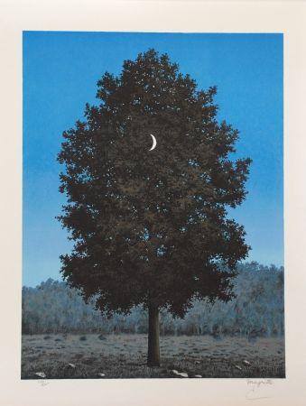 Lithographie Magritte - Le Seize Septembre