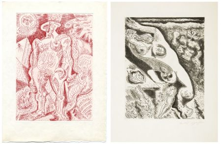 Livre Illustré Masson - LE SEPTIÈME CHANT. 4 gravures originales (1974)