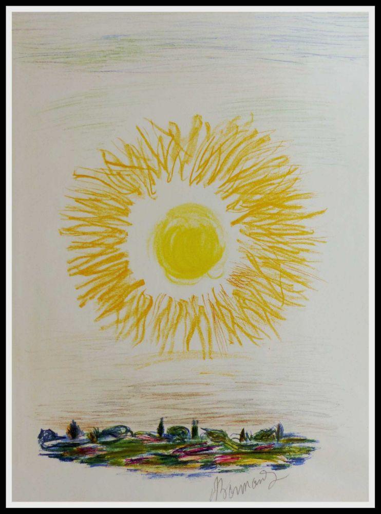Lithographie Bonnard - LE SOLEIL