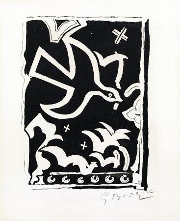 Gravure Braque - Le soleil des eaux