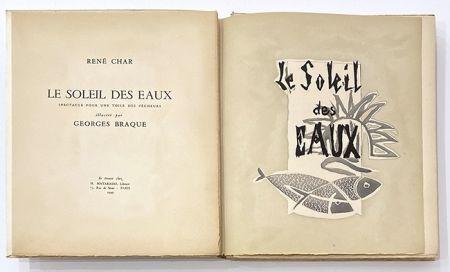 Livre Illustré Braque - Le soleil des eaux