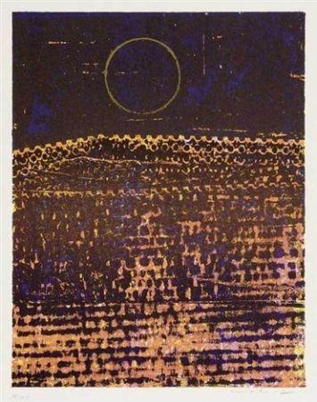 Lithographie Ernst - Le Soleil(La Ville Entiere)