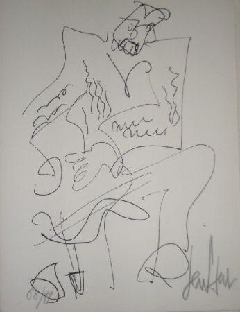 Lithographie Paul  - Le soliste