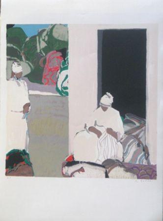 Lithographie Godard - Le sud