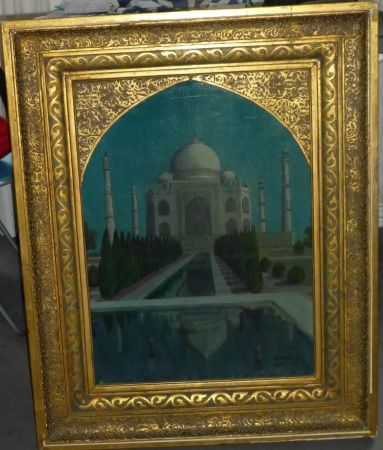 Aucune Technique Amiguet - Le Taj Mahal ,1932
