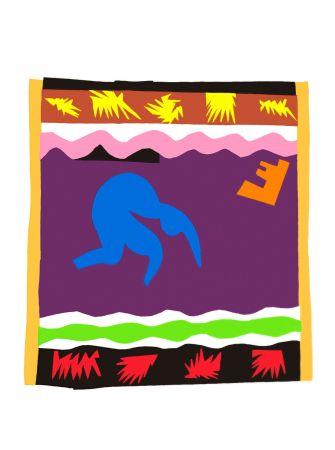 Lithographie Matisse - Le Toboggan (Toboggan)