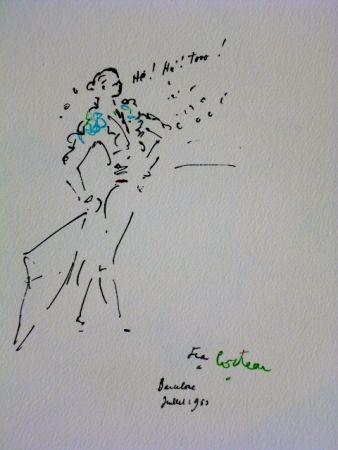 Lithographie Cocteau - Le Torero