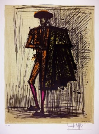 Lithographie Buffet - LE TORERO / THE BULLFIGHTER