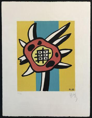 Lithographie Leger - Le Tournesol (The Sunflower)