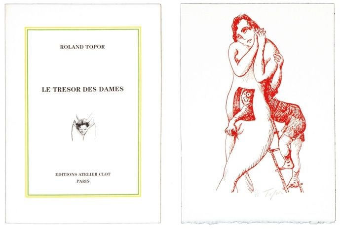 Livre Illustré Topor - Le trésor des dames