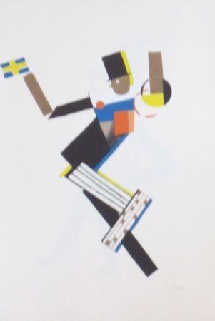 Lithographie Colin - Le tumulte noir 11