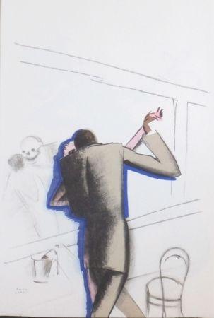 Lithographie Colin - Le tumulte noir 16