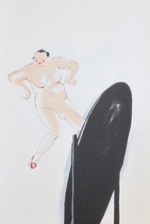 Lithographie Colin - Le tumulte noir 17