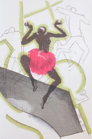 Lithographie Colin - Le tumulte noir 21