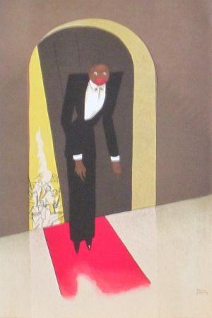 Lithographie Colin - Le tumulte noir 40