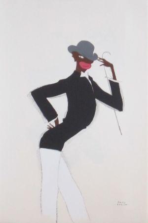 Lithographie Colin - Le tumulte noir 41
