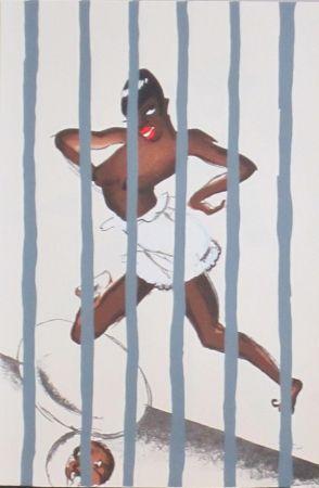 Lithographie Colin - Le tumulte noir 43