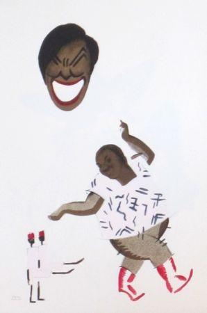 Lithographie Colin - Le tumulte noir 6