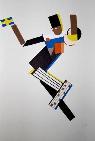 Lithographie Colin - LE TUMULTE NOIR / BLACK THUNDER - 1927