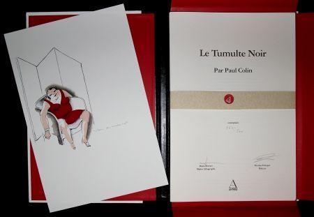 Livre Illustré Colin - LE TUMULTE NOIR / BLACK THUNDER  - Josephine Baker - 45 Lithographies