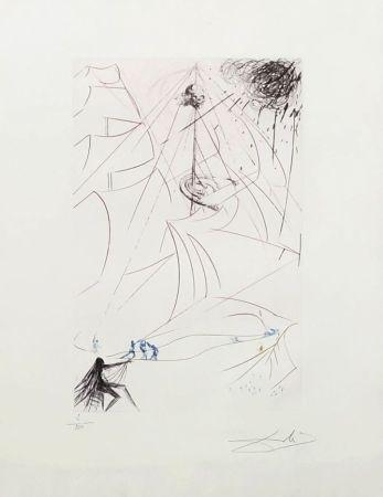 Gravure Dali - Le vaisseau fantôme