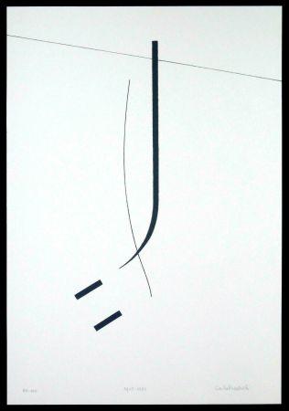 Sérigraphie Badiali - Le vent se leve (tavola 5)