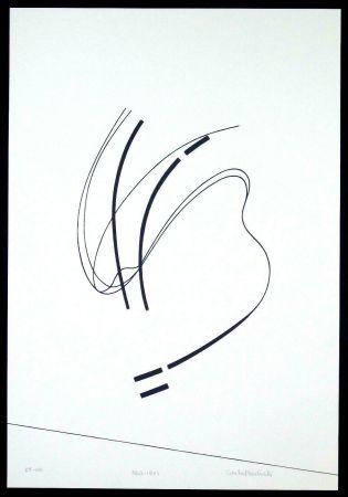 Sérigraphie Badiali - Le vent se leve (tavola 6)