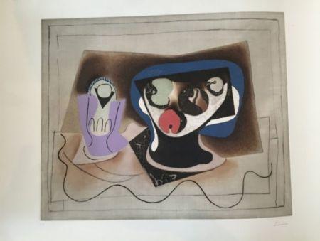 Aquatinte Picasso - Le Verre d' Absinthe