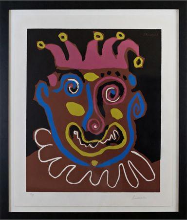 Linogravure Picasso - Le Vieux Roi (B. 1152)