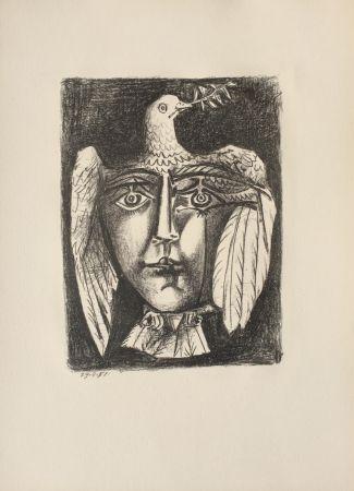 Lithographie Picasso - Le Visage de la Paix (B. 687)