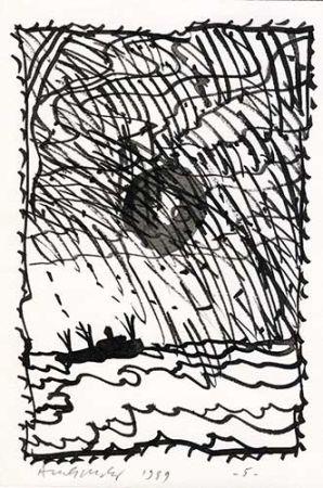 Livre Illustré Alechinsky - Le Volturno